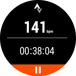 strava ui screen